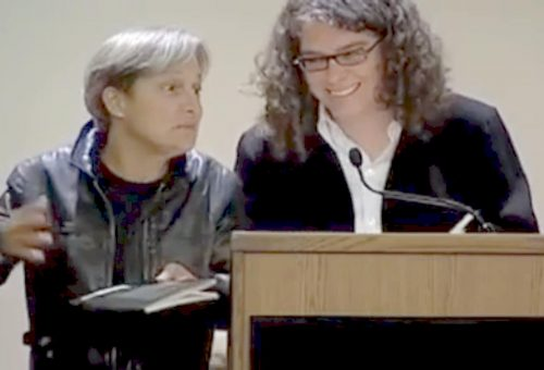 Judith Butler and Rachel Zolf