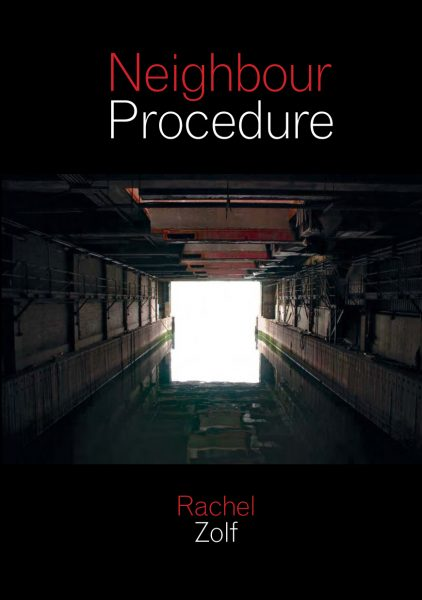 Rachel Zolf, Neighbor Procedure